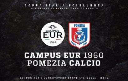 26 Settembre – Campus Eur 1960 vs. Pomezia Calcio