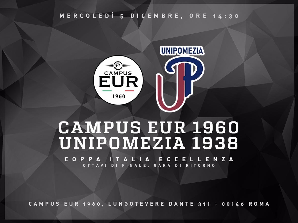 Campus Eur 1960 – Unipomezia 1938