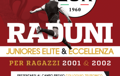 Raduni Categorie Juniores Elite & Eccellenza