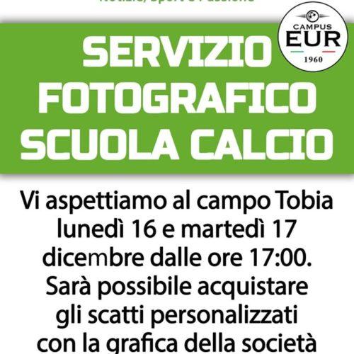 Servizio Fotografico Scuola Calcio